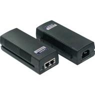 Single Port PoE Pow.Sou.Injec. IEEE802.3at/af, 10/100Mbps LAN