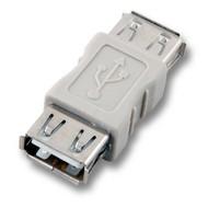 USB-Adapter 2.0 Buchse A - Buchse A, beige