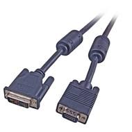 DVI/VGA Monitorkabel DVI12+5/HDSUB15 Stecker, 5m