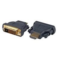 HDMI™ /-DVI 24+1 Adapter Typ A St. auf DV-DI 24+1-St.