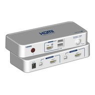 2-Port KVM-Switch HDMI-USB inkl. Kabelset 2x 1.2m