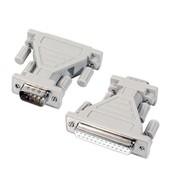 Adapter DB9S/DB25B beige
