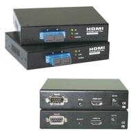 HDMI Fiber Extender bis 300m, RS232, SC-Duplex MM, HDTV, IR