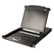 "8 Port KVM 17""-LCD Console 19""-Schublade + Keyboard"