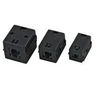 Ferrit-Ringkern 10,0mm,schwarz Bauform: eckig