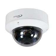 Infralan Vandal-Dome 4MP IP Außenkamera, PoE,DC12V