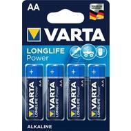 Varta 4 x Varta LR6/AA (Mignon) (4906)