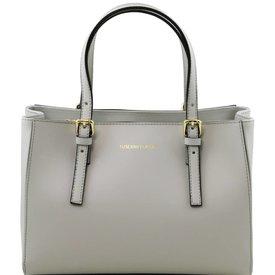 Tuscany Leather TL AURA Ruga leather handbag