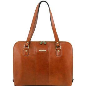 Tuscany Leather TL RAVENNA Exclusive lady business bag Honey