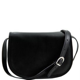 Tuscany Leather TL ISABELLA Lady leather bag Black