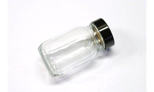 Glazen potje met deksel 100 cc
