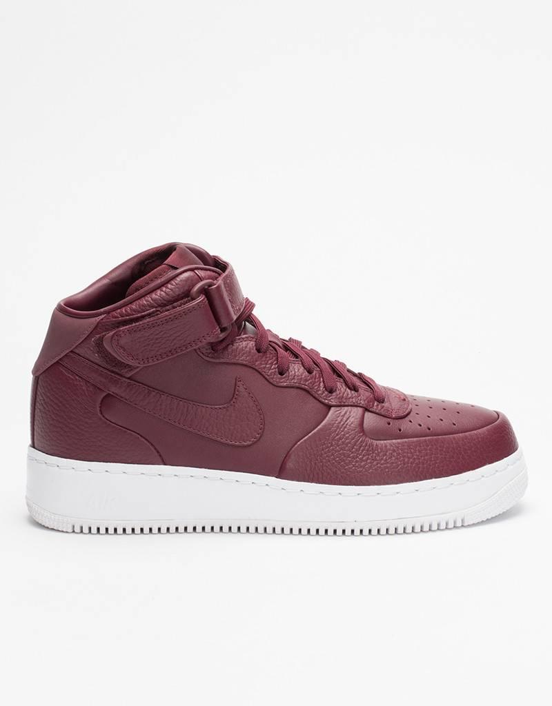 Nike Nikelab Air Force 1 Mid Night Maroon