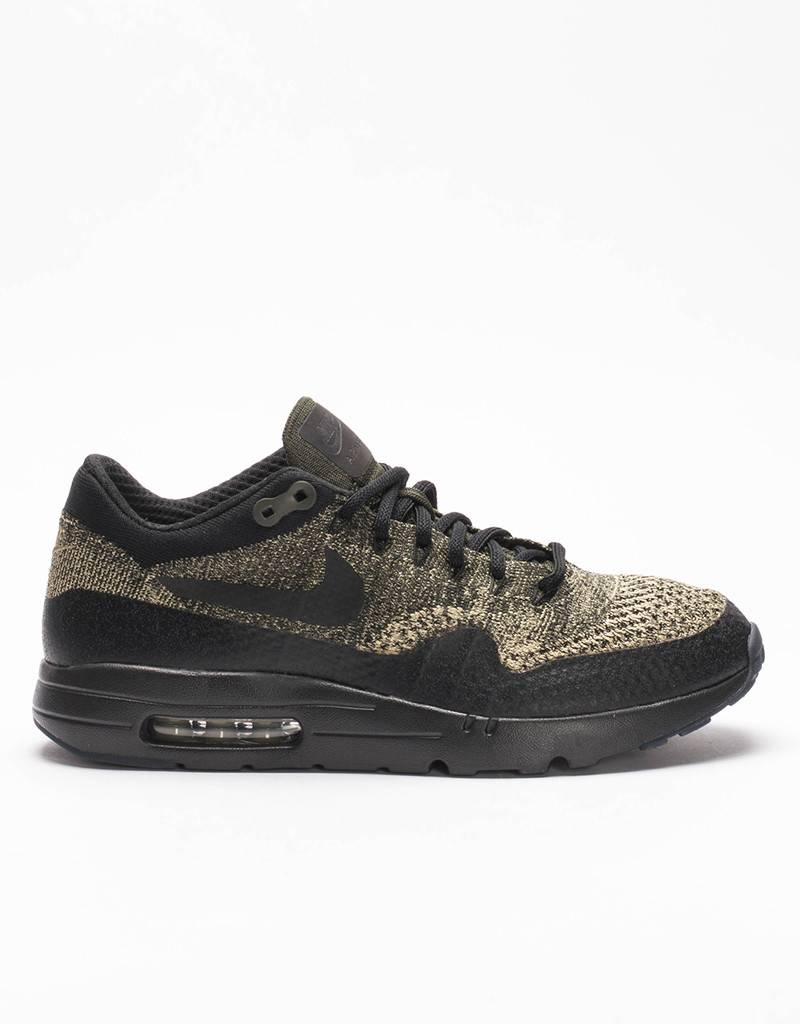 Nike Air Max 1 Ultra Flyknit Olive Black