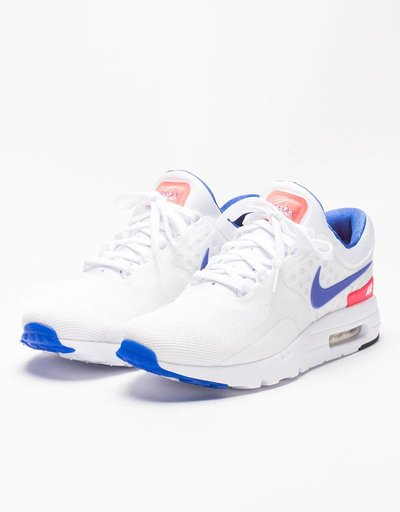 Nike Air Max Zero White/Ultramarine Solar Red
