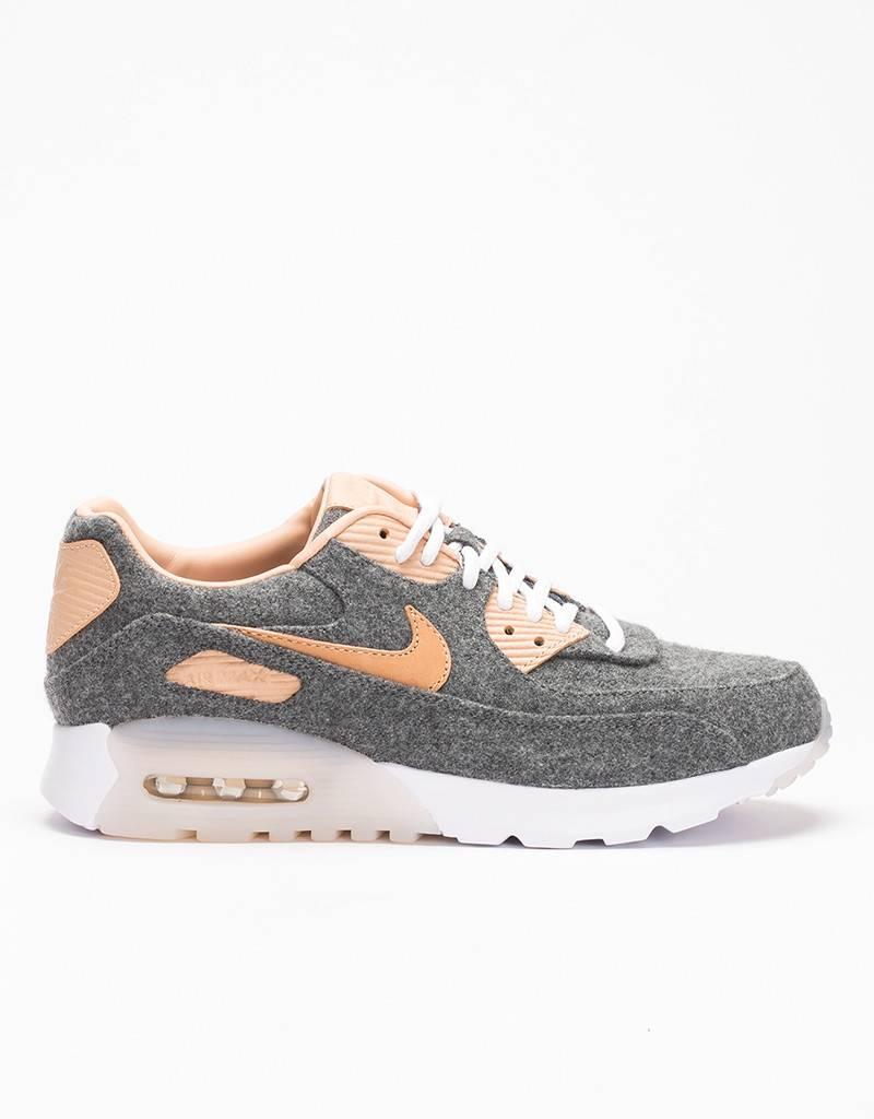 Nike Womens Air Max 90 Ultra Premium Cool Grey/Vachetta Tan