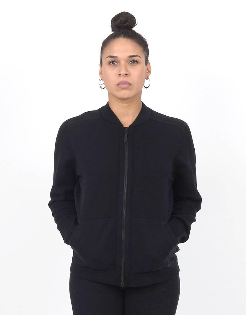 Nike Womens NSW Tech Knit Bomber Jacket black