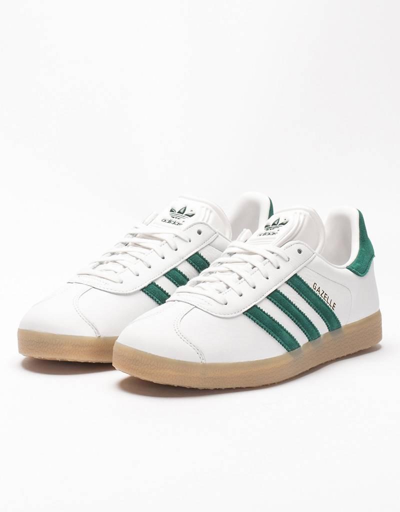 adidas Gazelle white/green/gum