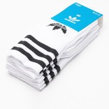 adidas Solid Crew Socks White/Black