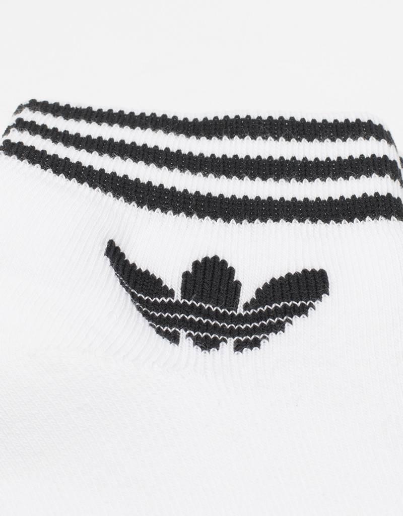 adidas Trefoil Socks White
