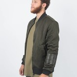 adidas Day One Tech Bomber military green