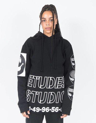 Etudes Factor Rave Hoodie black