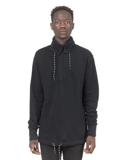 Olaf Hussein Foldaway Hoodie black