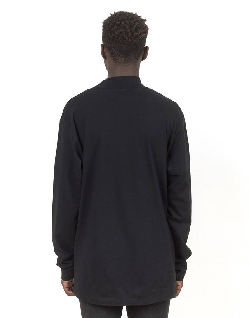 Olaf Hussein OH! Collar Longsleeve T-shirt Black