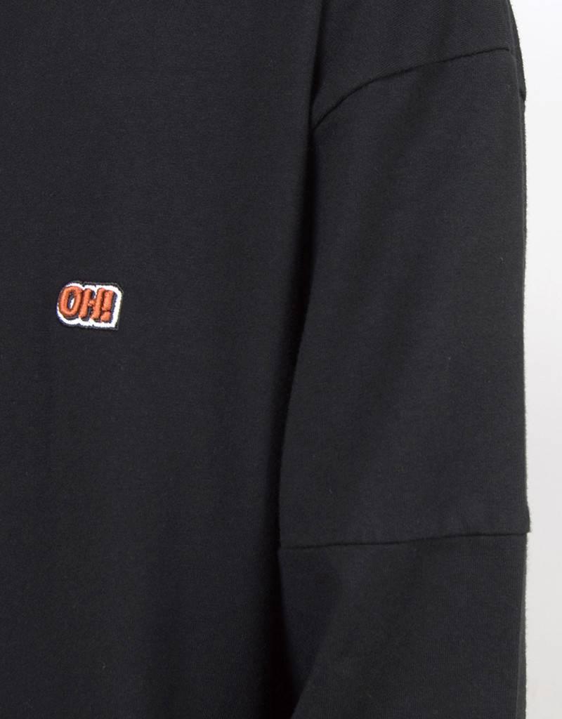 Olaf Hussein OH! Longsleeve T-shirt Black