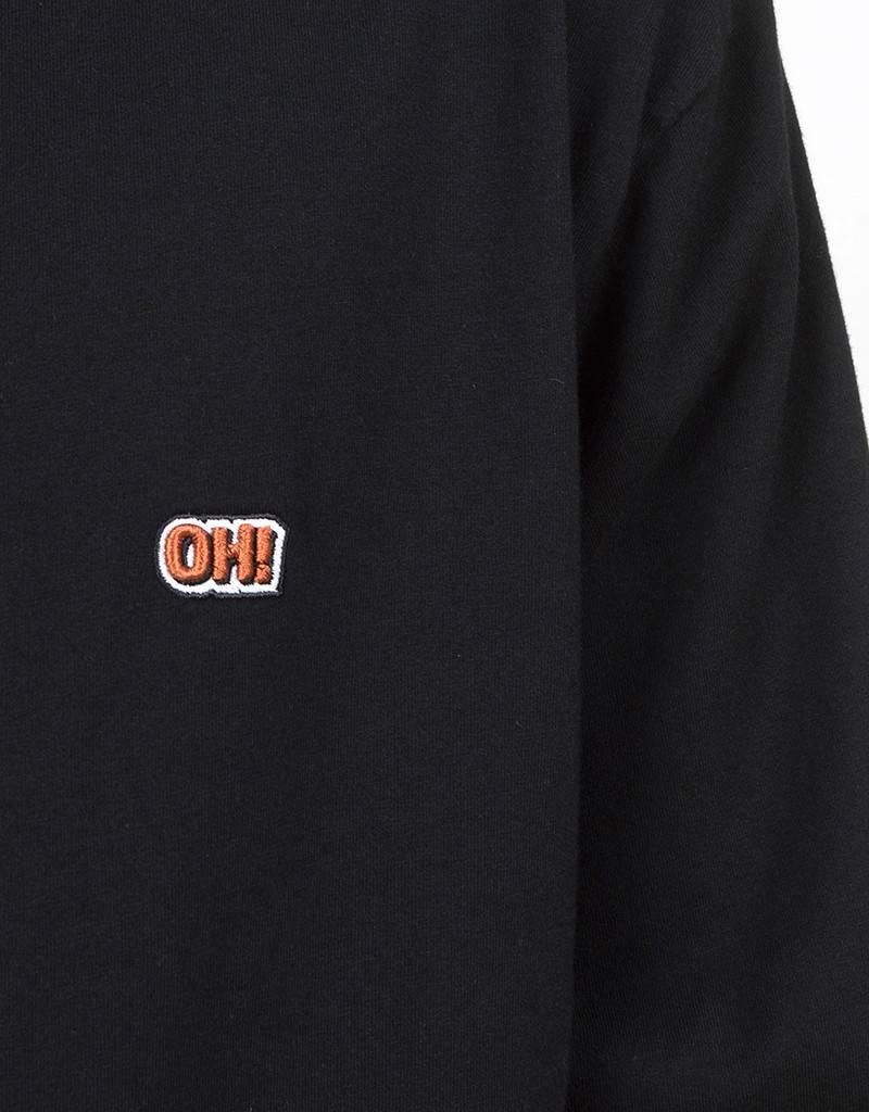 Olaf Hussein OH! Drawstring Longsleeve T-shirt Black