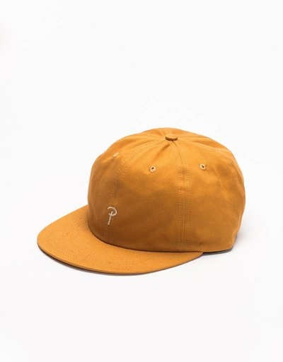 Patta P Cotton Twill Cap Golden Brown