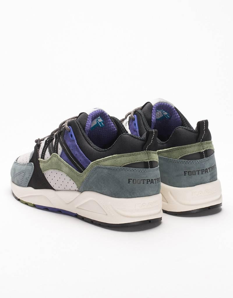 Karhu x Footpatrol Fusion 2.0 Dark Grey/Calla Green