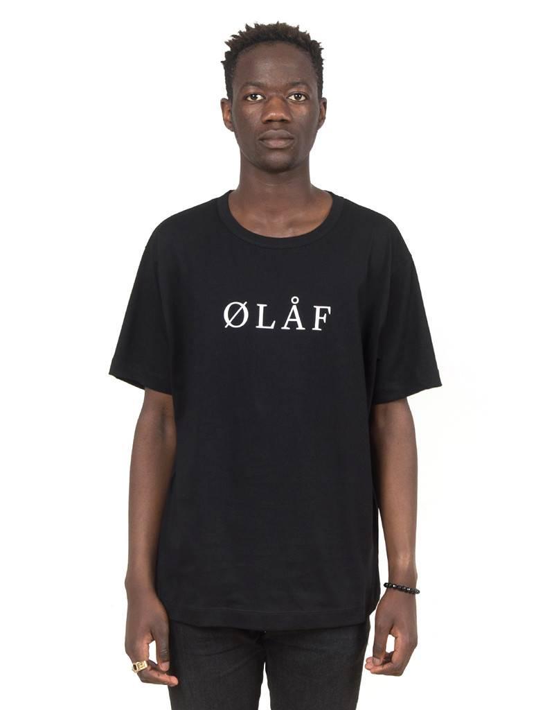 Olaf Hussein OLAF T-shirt Black