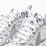 Nikelab x Roundel air zoom spiridon white/multi color reflective silver