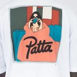 Patta Tea Blanket T-shirt white