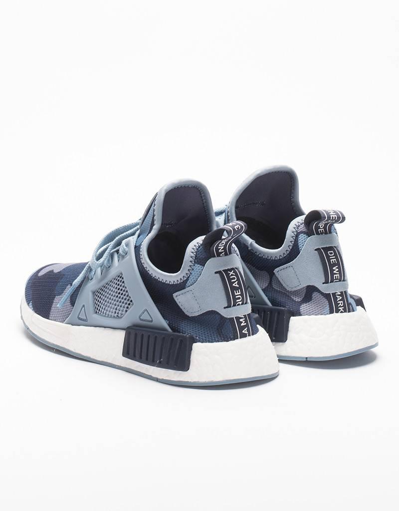 Adidas womens NMD XR1 black friday soft blue