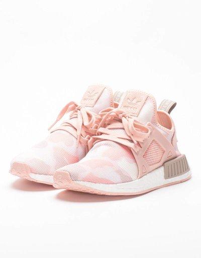 Adidas womens NMD XR1 black friday pink