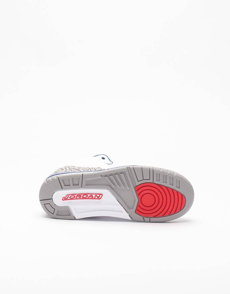 Nike air jordan 3 (ps) white/blue