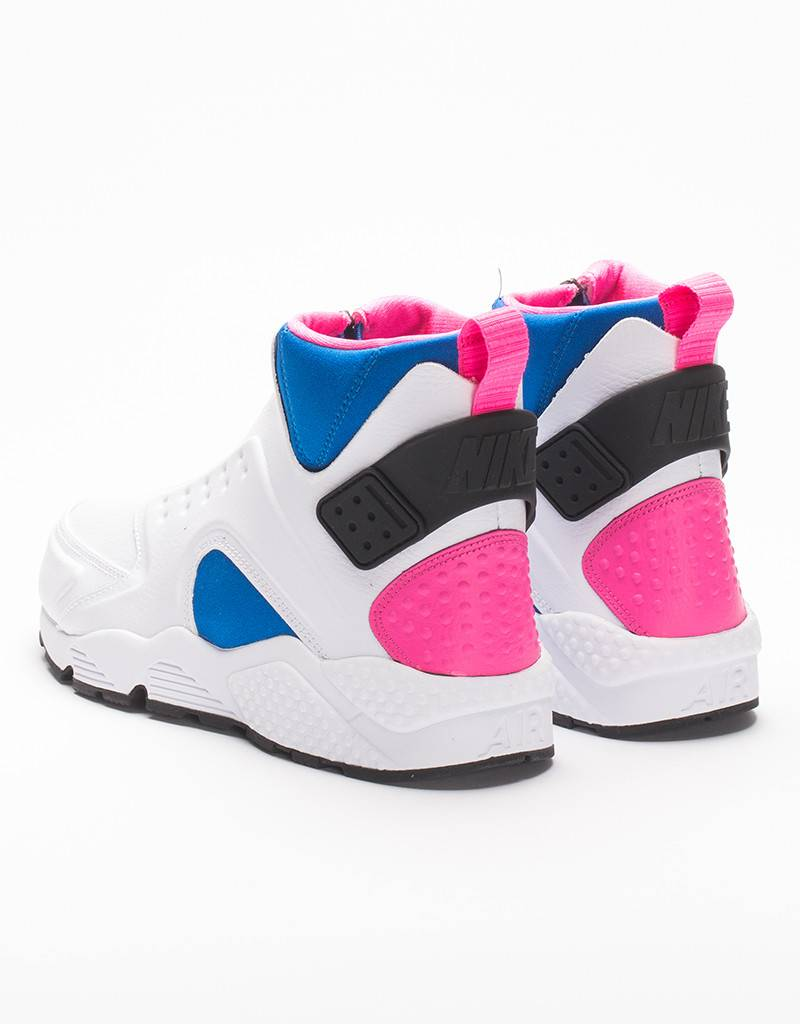 Nike Womens Air Huarache Run Mid white/black