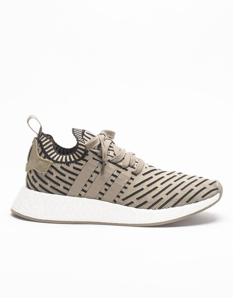 ADIDAS NMD R2 PK PRIMEKNIT TRACE CARGO OLIVE GREEN