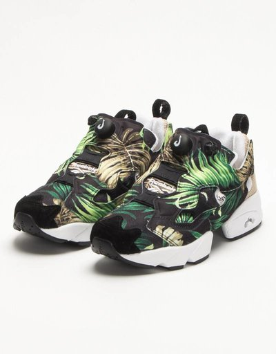 "Reebok Instapump Fury ""Jungle Gurl""/Black/White"