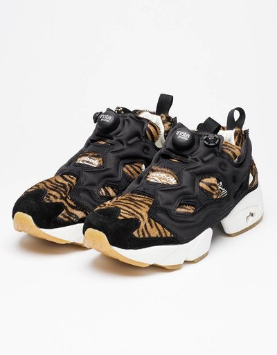 Reebok Womens Instapump Fury JB black/gold