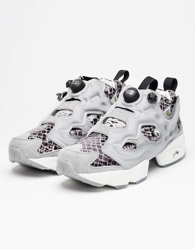 Reebok Womens Instapump Fury JB grey/coal/silver
