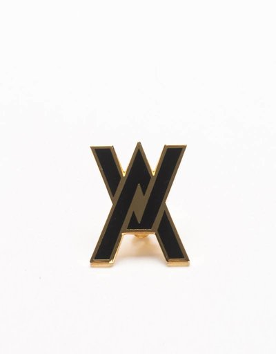 Avenue Logo Pin Black/Gold