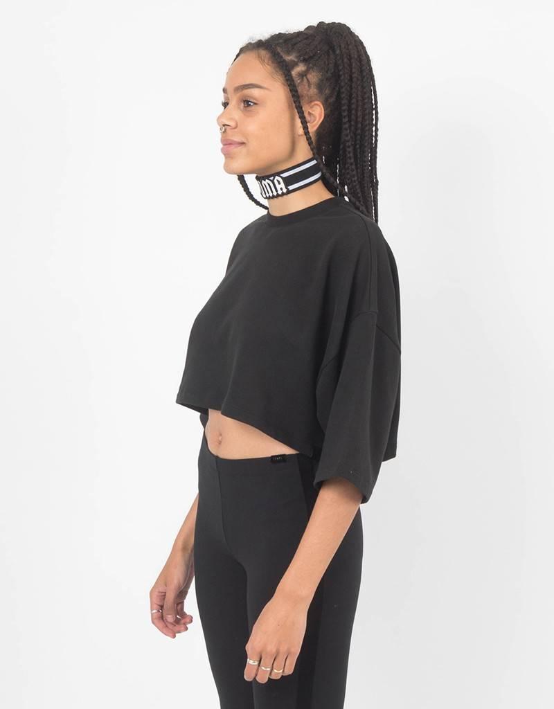 Puma Fenty Cropped T-Shirt Black