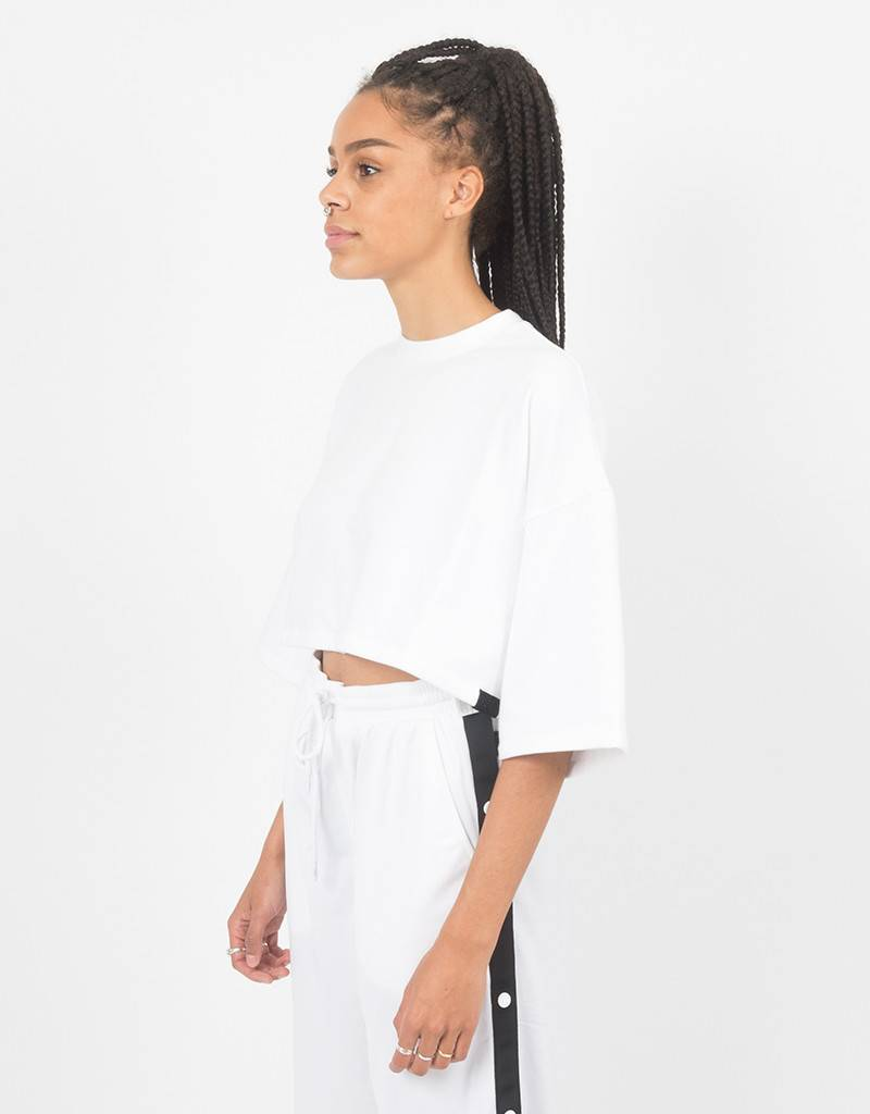 Puma Fenty Cropped T-Shirt White