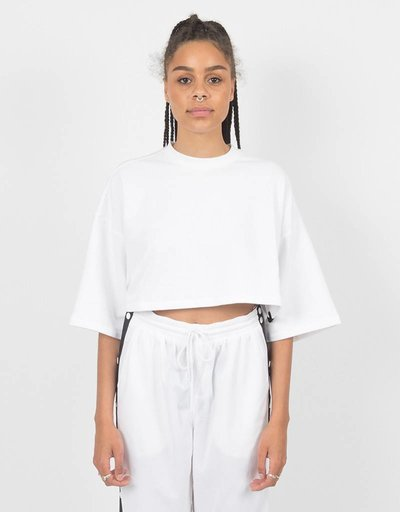 Puma Fenty Cropped T-Shirt White