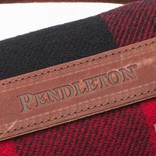 Pendleton Motor Robe w/ leather carrier Red/Black