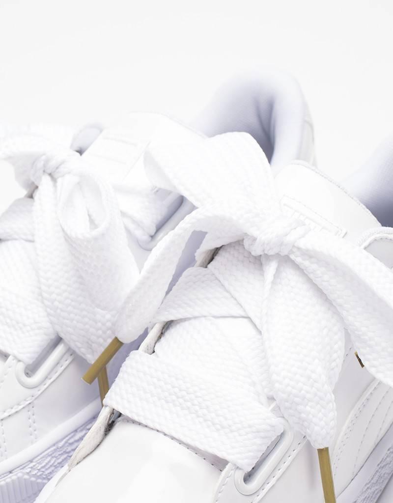 Puma Women's Basket Heart white