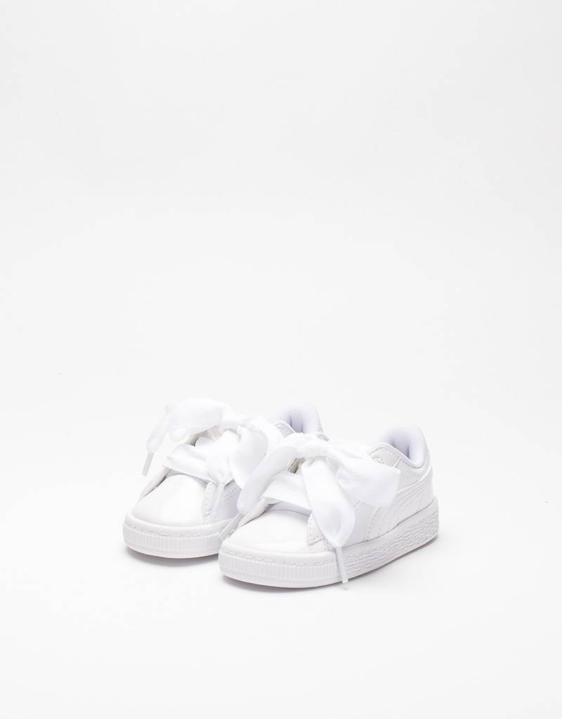 Puma Infant Basket Heart white