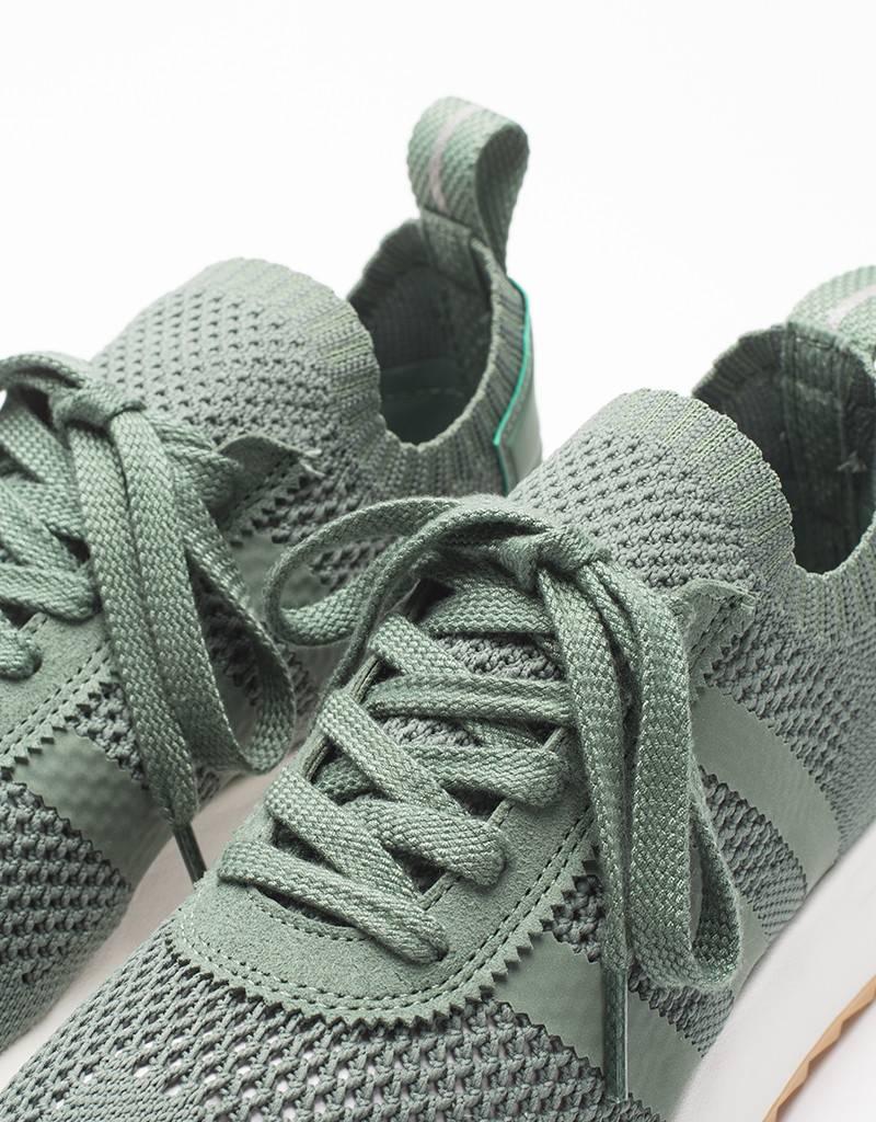 Adidas womens flashback primeknit green